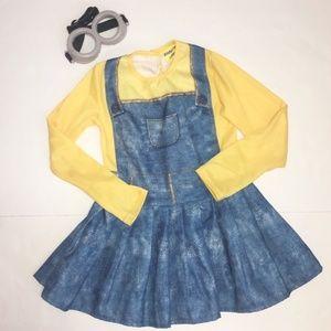 Female Minion Costume Dress Goggles - The Minions